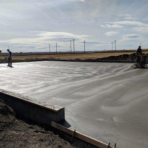 Commercial shop floor finishing