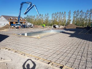 Pumping and formwork