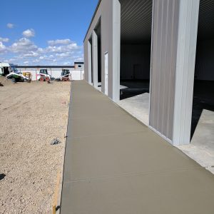 Commercial Broomed Concrete
