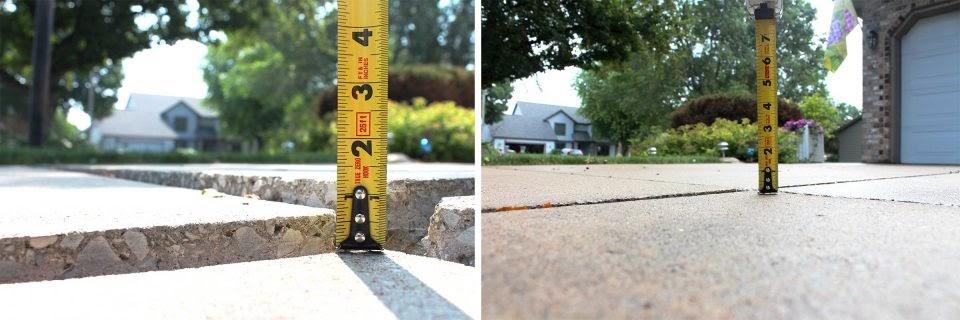 Concrete Driveway Leveling