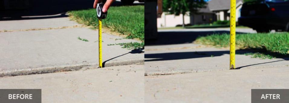 Sidewalk Concrete Leveling