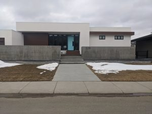 Concrete Curb Retaining Wall 10