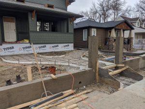 Concrete Curb Retaining Wall 11