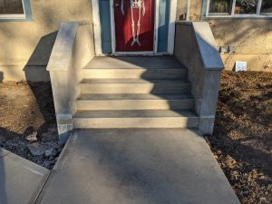 Concrete Curb Retaining Wall 17