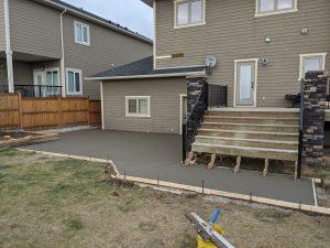 Concrete Curb Retaining Wall 19