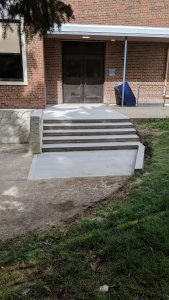 Concrete Curb Retaining Wall 7