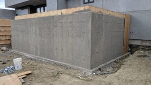 Concrete Curb Retaining Wall 8