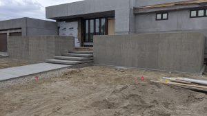 Concrete Curb Retaining Wall 9