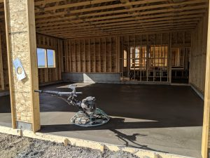 Concrete Garage Floor 1