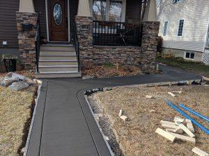 Concrete Sidewalk 16