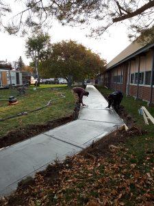 Concrete Sidewalk 3